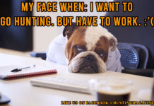 Hunting Meme: My Face When - I Want to Go Hunting. But Have to Work. | Hunting Magazine