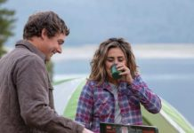 Happy Couple Camping Outdoors and Cooking on Coleman Propane Camp Cook Stove | Hunting Magazine