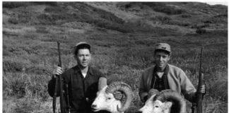 Hunters with Dall Ram heads - Hunting Magazine