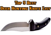 Top 5 Best Deer Hunting Knife List by Hunting Magazine