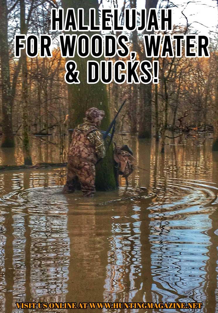 Duck Hunting Meme: Hallelujah for Woods, Water & Ducks!